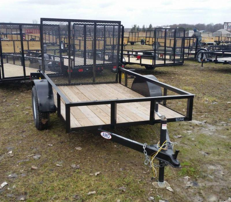 5 x 8 A.M.O. Low Side Landscape Trailer