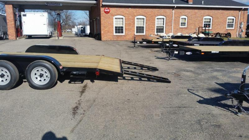 16' A.M.O. Car Hauler Trailer TA1