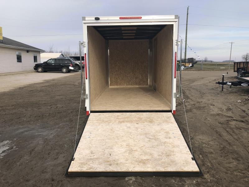 Look Trailers 6X12 Ramp Door Enclosed Cargo Trailer
