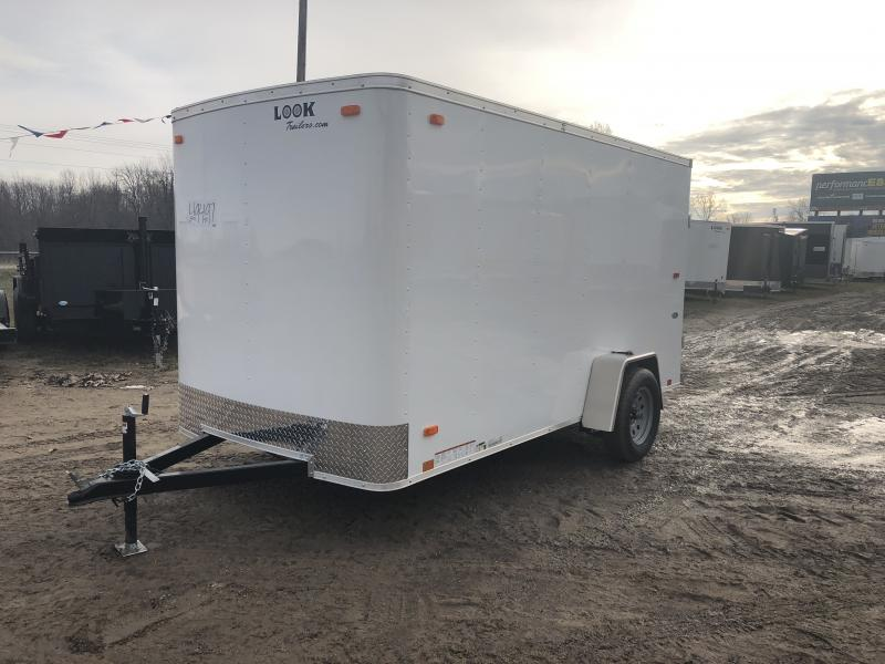 Look Trailers 6X12 Ramp Door Enclosed Cargo Trailer