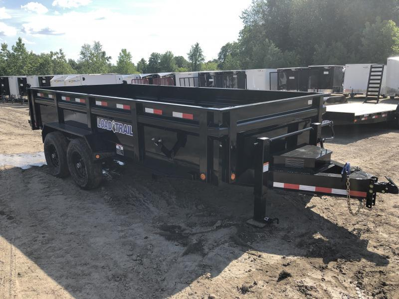 Load Trail 83x16 14K Dump Trailer Deluxe Model