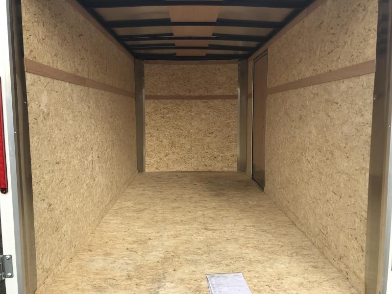 Look Trailers 6x12 Barn Door Enclosed Cargo Trailer