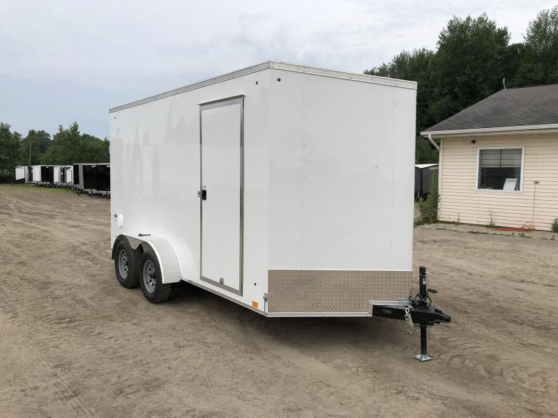 Look Trailers 7x14 V-Nose Wedge Cargo Trailer w/ 7ft Interior Height