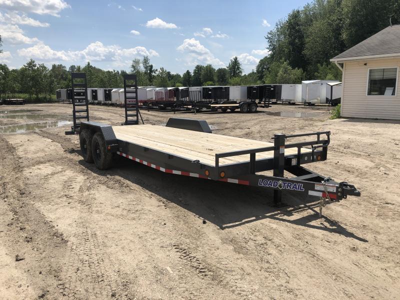 Load Trail 83 x 22 14k Equipment Trailer Gray