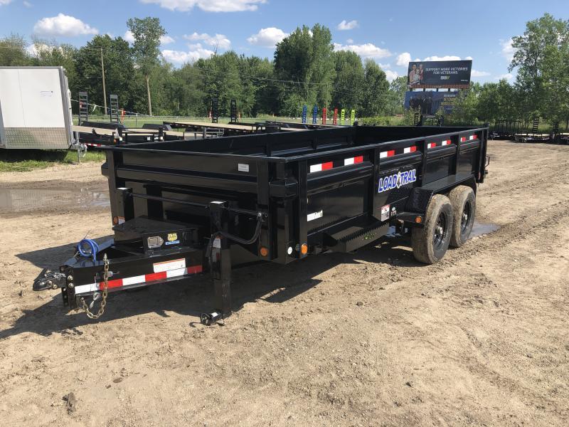 Load Trail 83x16 14K Dump Trailer Deluxe Model