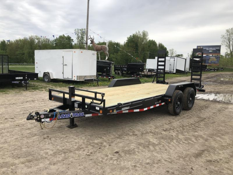 Load Trail 18ft 14K Equipment Trailer w/Rub Rail