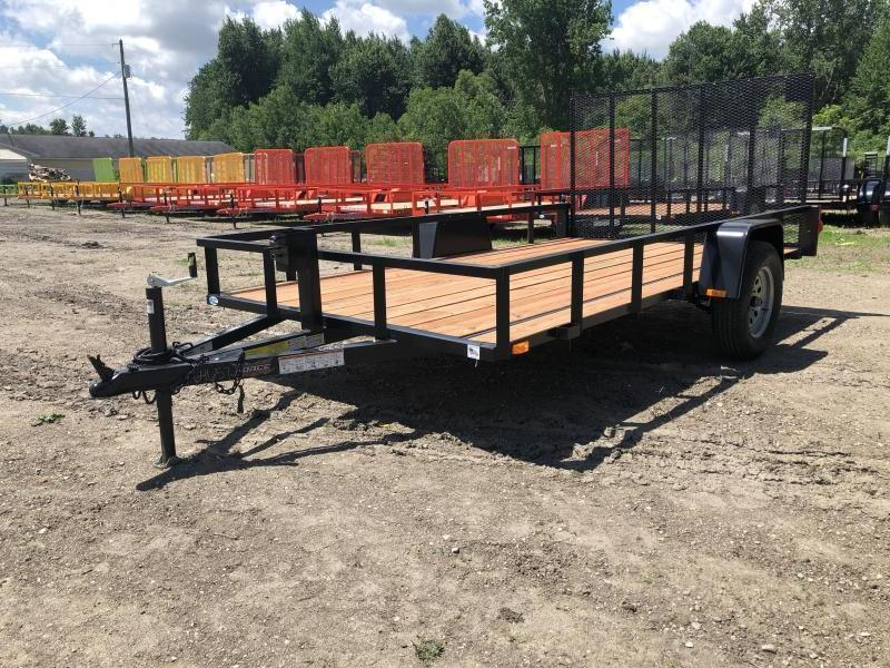 Force 6.5x12 Deluxe Utility Trailer