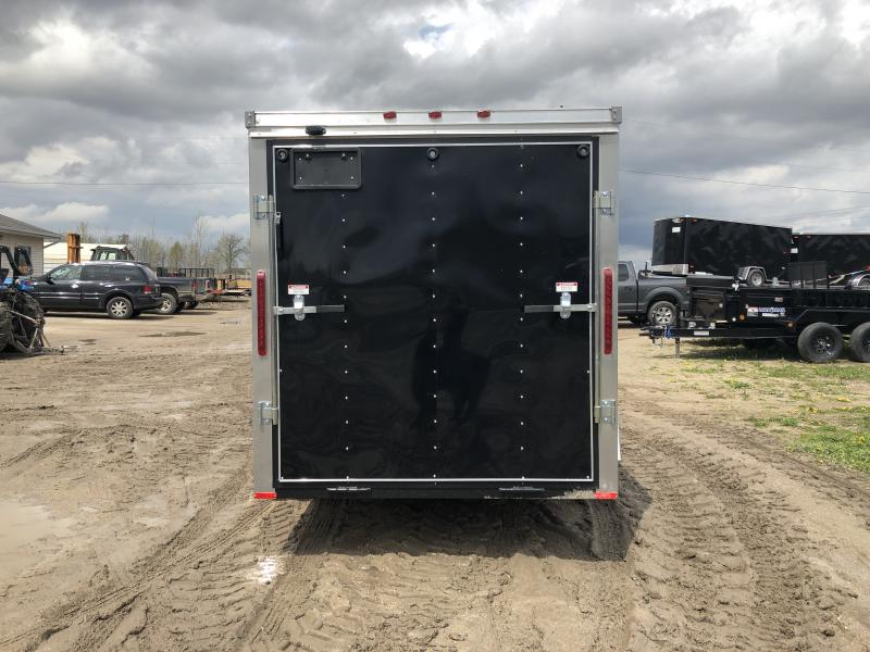 MTI Trailers USA 6X12 V-Nose Ramp Door Enclosed Cargo Trailer