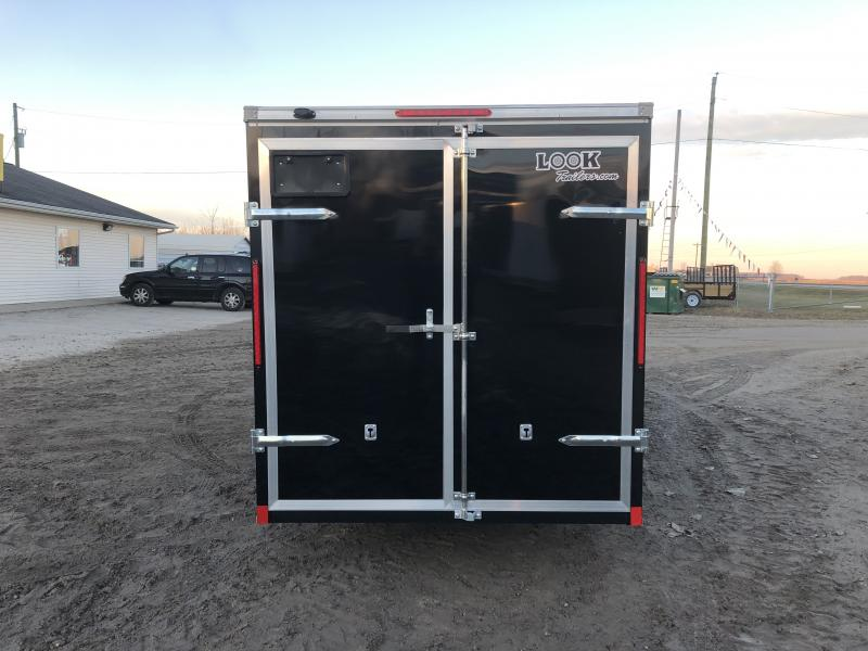 Look Trailers 6x14 Barn Door Enclosed Cargo Trailer