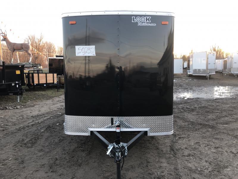 Look Trailers 6x14 Barn Door Enclosed Cargo Trailer
