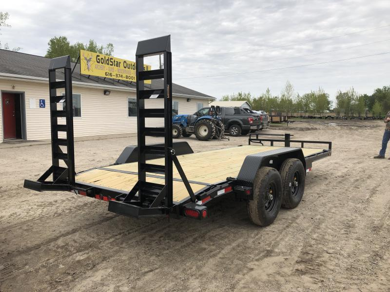 Load Trail 18ft 14K Equipment Trailer w/Rub Rail
