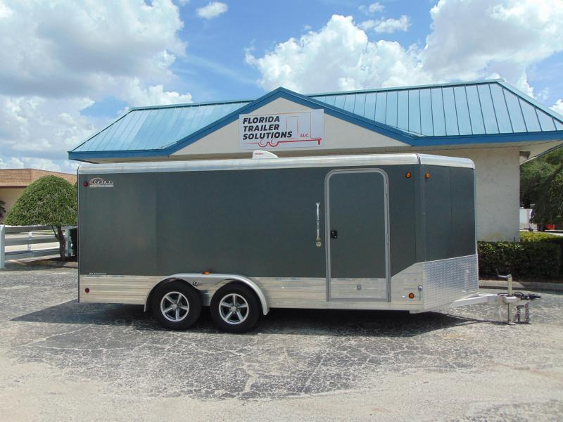 2014 Legend Manufacturing 7X19 Deluxe V-Nose All  Aluminum Enclosed Cargo Trailer