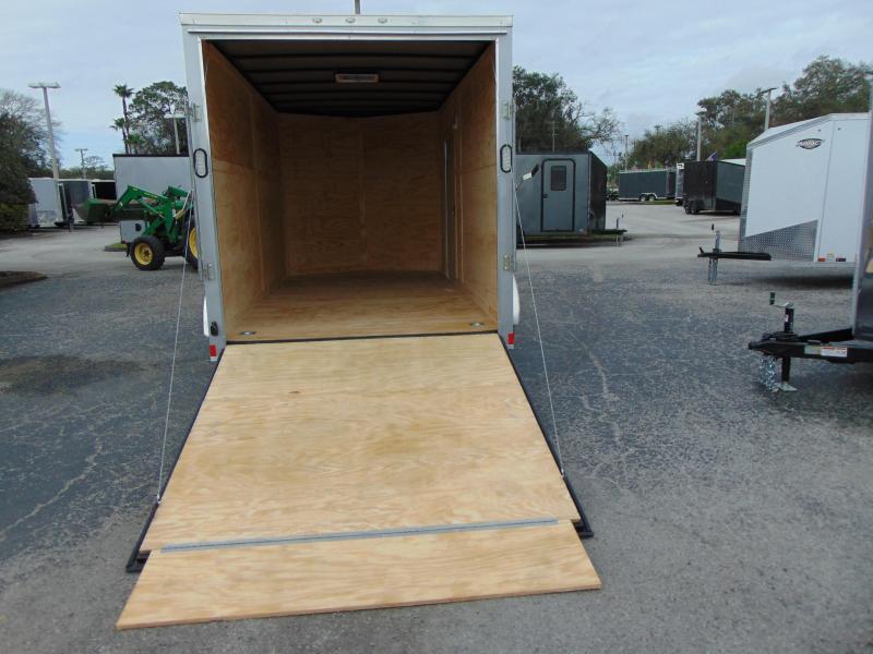 2019 Rock Solid Cargo 7X14TA Enclosed Cargo Trailer w/ 7' Interior Height