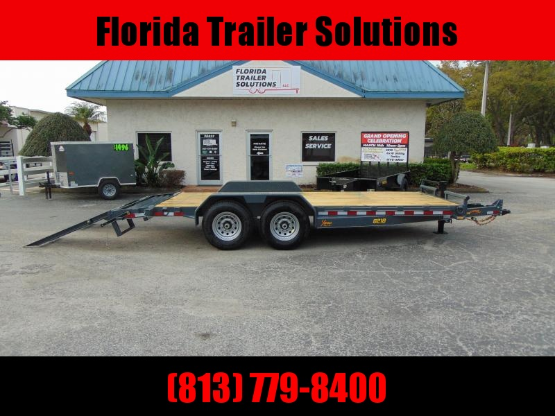 2019 Doolittle Trailer Mfg 82X18 14k 16+2 Xtreme Equipment Trailer in Ashburn, VA