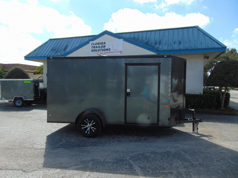 2019 Rock Solid Cargo 6X12 Enclosed Cargo Trailer w/Black Out Package in Ashburn, VA