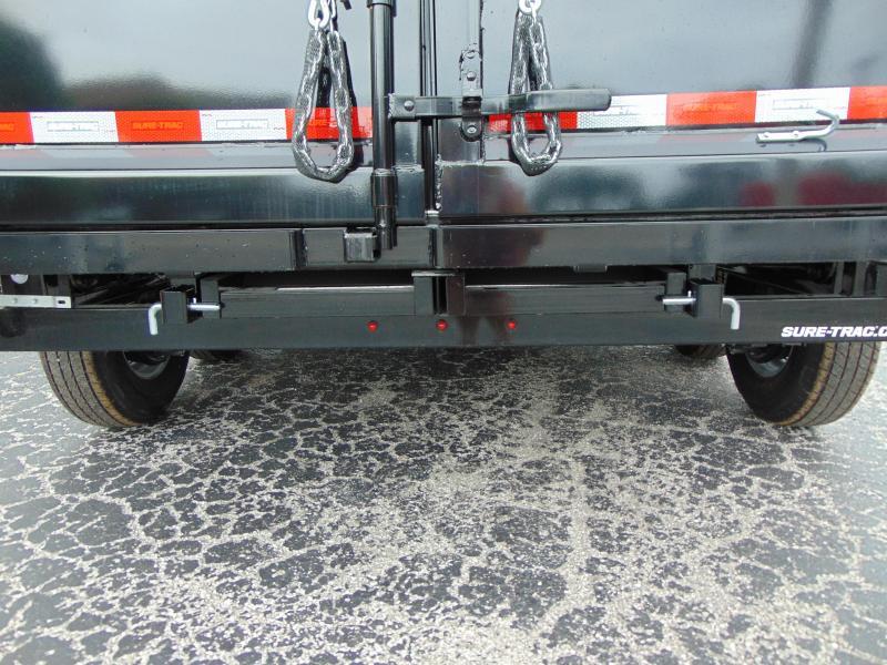 New Sure-Trac 82x12 Low Profile 12k Telescopic Hoist Dump Trailer