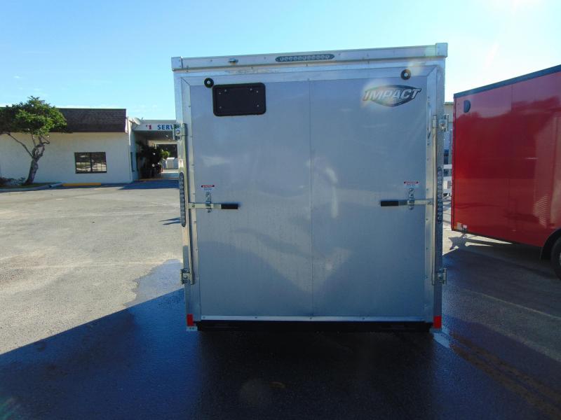 2019 Impact Trailers 6X12 Enclosed Cargo Trailer