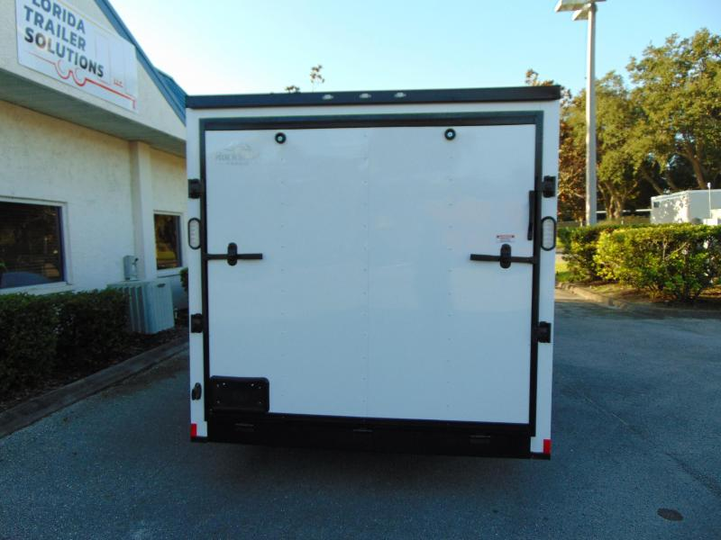 2019 Rock Solid Cargo 7X16TA Enclosed Cargo Trailer w/Black Out Package