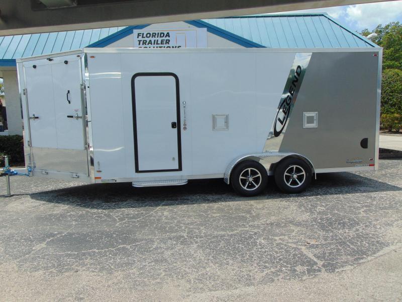 2019 Legend Mfg 7X23 ATV Enclosed Cargo Trailer