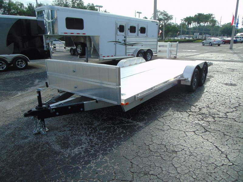 2019 Legend Mfg 7X20OCH Aluminum Car Hauler