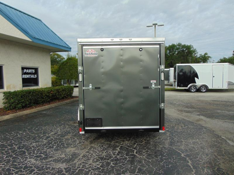 2019 Rock Solid Cargo 6X12 Enclosed Cargo Trailer