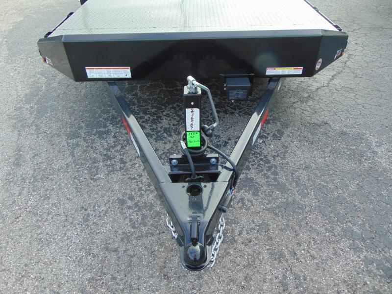 2019 Sure-Trac 7X20 Steel Deck Car Hauler