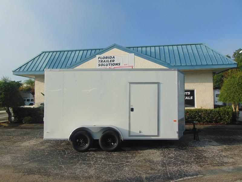 2019 Rock Solid Cargo 7X14TA Enclosed Cargo Trailer w/ 7' Interior Height