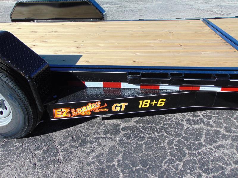 2019 Doolittle Trailer Mfg 82x24 EZ Loader GT 18+6 Flatbed Tilt Trailer