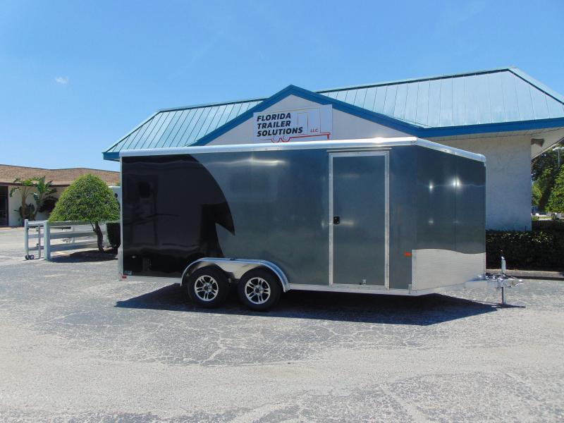 "2019 NEO Trailers 7.5X16 Aluminum Enclosed Cargo / Motorcycle Trailer 12"" Addtl Height in Ashburn, VA"