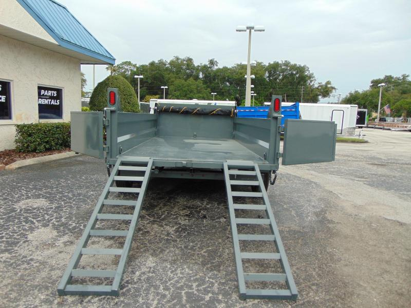 2019 Sure-Trac 82X16 16K Telescopic Dump Trailer