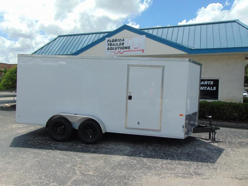 New Rock Solid Cargo 7X16TA Enclosed Cargo Trailer