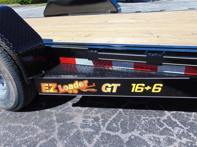 2019 Doolittle Trailer Mfg 82x22 EZ Loader GT 16+6 Flatbed Tilt Trailer