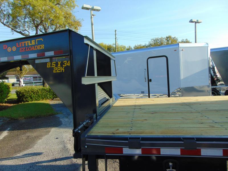 2019 Doolittle Trailer Mfg 102X34 22k BruteForce Tilt DeckEquipment Trailer
