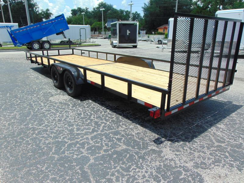 New Worldwide Trailer 7X24 Tandem Axle Utility Trailer