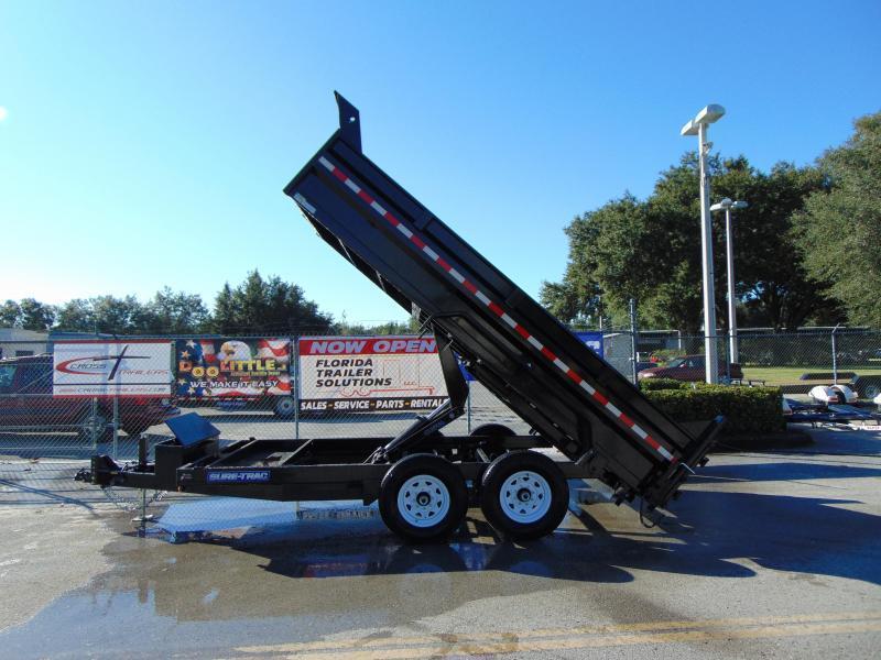 New Sure-Trac 82X14 Low Profile Scissor Lift 14K Dump Trailer