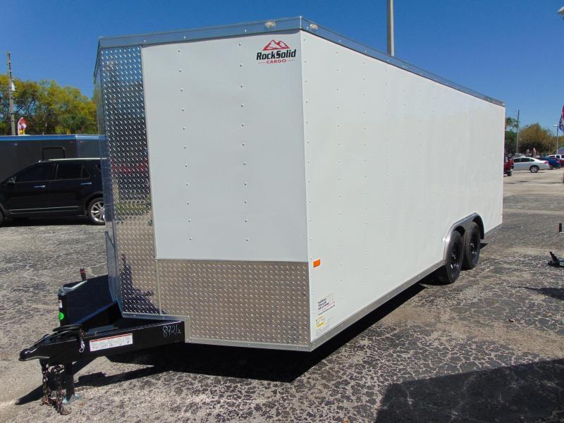 New Rock Solid Cargo 8.5X20TA Car / Racing Trailer