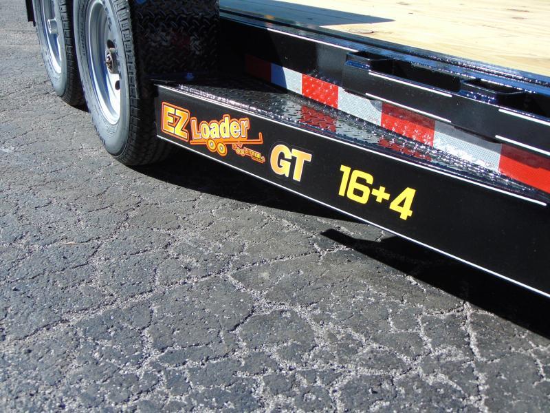 2019 Doolittle Trailer Mfg 82x20 EZ Loader GT 16+4 Flatbed Tilt Trailer