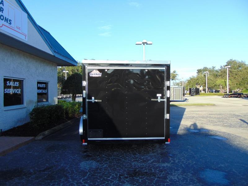 2019 Rock Solid Cargo 7X14TA Enclosed Cargo Trailer