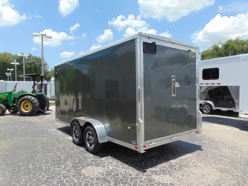 2019 NEO Trailers 7X16 Aluminum Enclosed Cargo Trailer