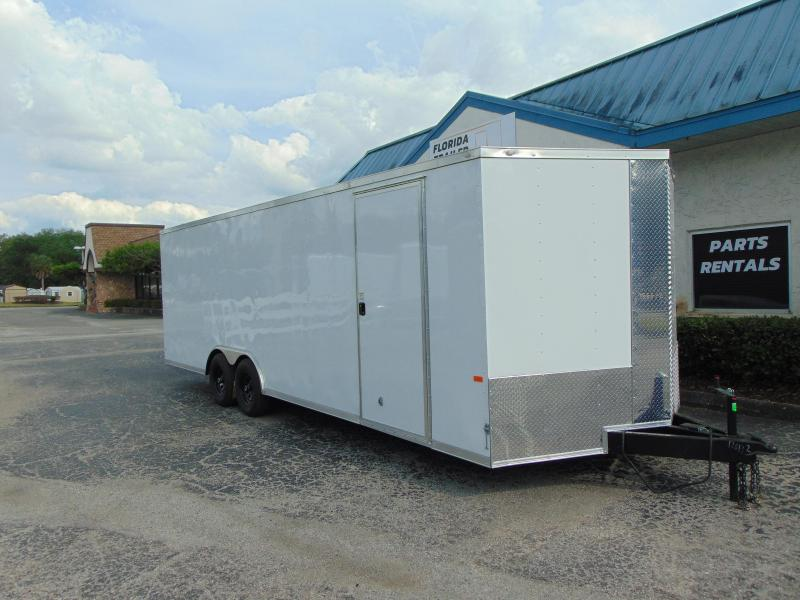 2019 Rock Solid 8.5x24TA Car / Racing Trailer