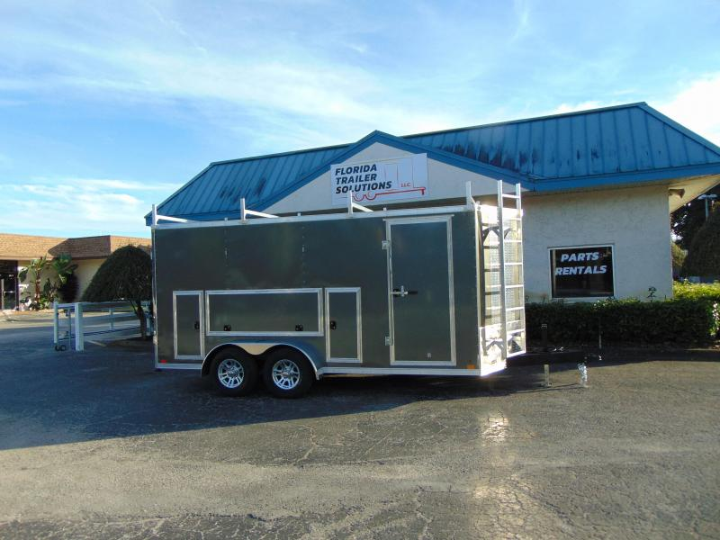 2019 Cross Trailers 7X16TA Contractor/Tool Crib Enclosed Cargo Trailer in Ashburn, VA