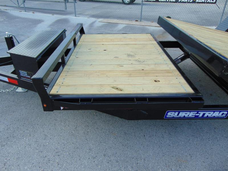 2019 Sure-Trac 78X12+4 Tilt Deck Equipment Trailer