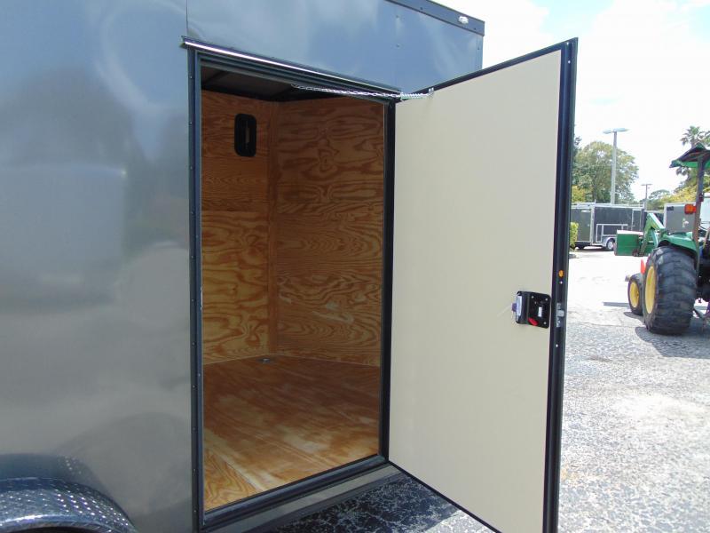 2019 Rock Solid Cargo 7X14TA Enclosed Cargo Trailer w/7' Interior Height