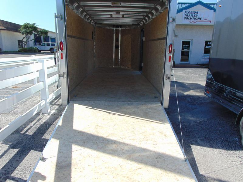 2019 Legend Manufacturing 7X19 Deluxe V-Nose All Aluminum Enclosed Cargo Trailer