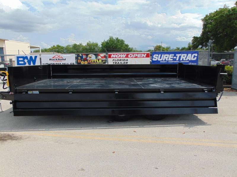2019 Sure-Trac 96X16 Deckover 14K Dump Trailer