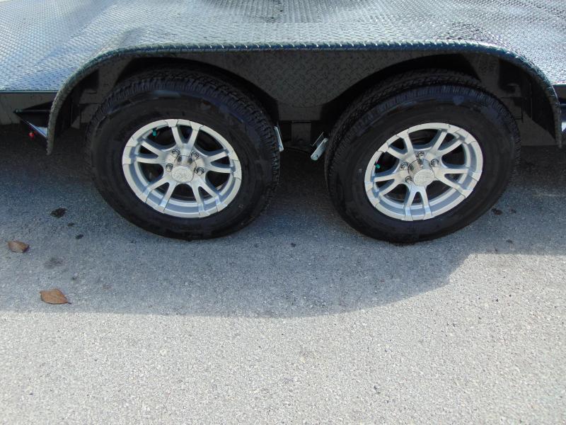 2019 Sure-Trac 7X18 10K Steel Deck Car Hauler