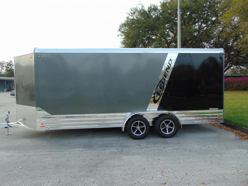 New Legend Manufacturing 7X21 Aluminum Enclosed Cargo Trailer