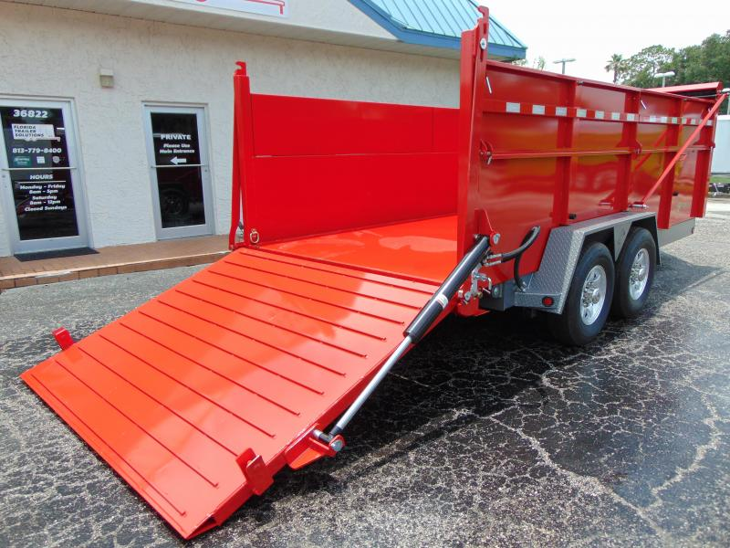 2019 B-Wise 82X16 Ultimate Dump Trailer