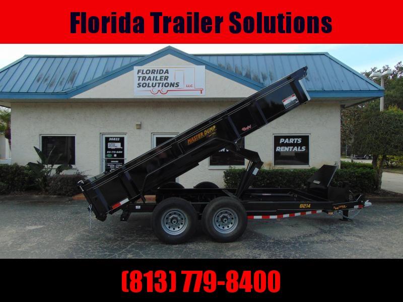 2019 Doolittle Trailer 7x14 Heavy Duty Dump Scissor Lift Trailer