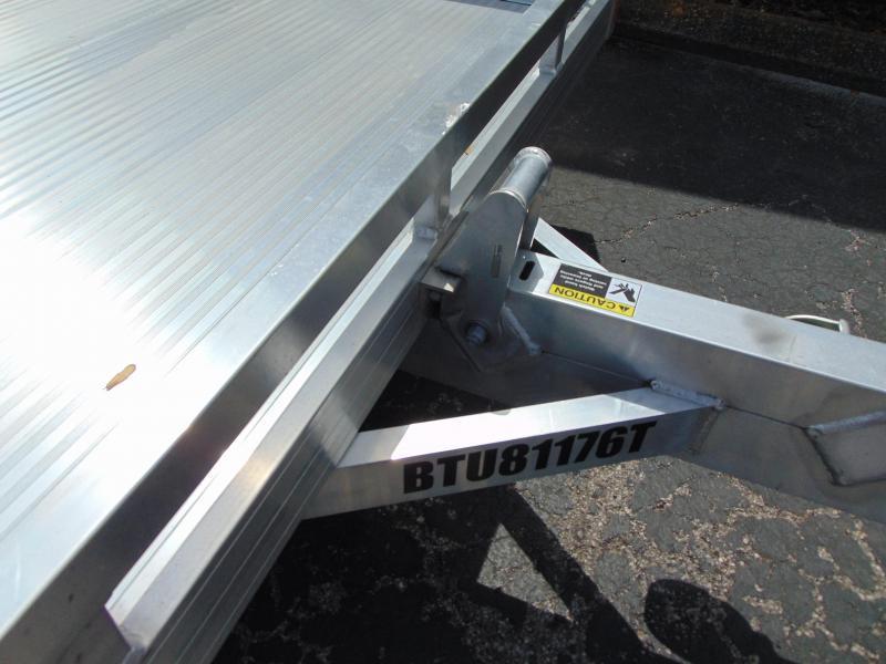 2019 Bear Track Products 81X176 Tilt Utility Trailer w/ Brakes